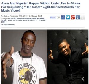 akon and wizkid under fire